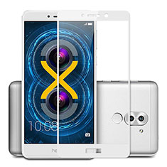 Protector de Pantalla Cristal Templado Integral F02 para Huawei Mate 9 Lite Blanco