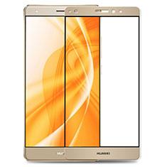 Protector de Pantalla Cristal Templado Integral F02 para Huawei Mate S Oro