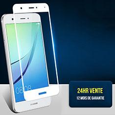 Protector de Pantalla Cristal Templado Integral F02 para Huawei Nova Blanco