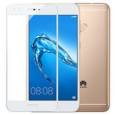Protector de Pantalla Cristal Templado Integral F02 para Huawei Y7 Prime Blanco