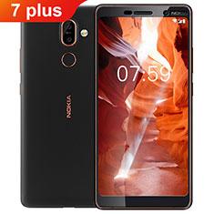 Protector de Pantalla Cristal Templado Integral F02 para Nokia 7 Plus Negro