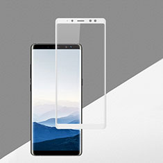 Protector de Pantalla Cristal Templado Integral F02 para Samsung Galaxy A8 (2018) Duos A530F Blanco