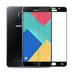 Protector de Pantalla Cristal Templado Integral F02 para Samsung Galaxy A9 Pro (2016) SM-A9100 Negro