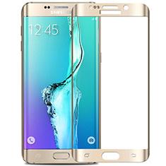 Protector de Pantalla Cristal Templado Integral F02 para Samsung Galaxy S6 Edge+ Plus SM-G928F Blanco