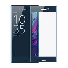 Protector de Pantalla Cristal Templado Integral F02 para Sony Xperia XZs Azul