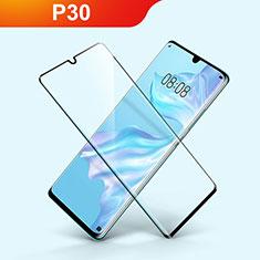 Protector de Pantalla Cristal Templado Integral F03 para Huawei P30 Negro
