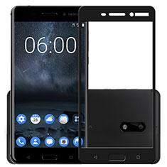 Protector de Pantalla Cristal Templado Integral F03 para Nokia 6 Negro
