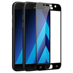Protector de Pantalla Cristal Templado Integral F03 para Samsung Galaxy A7 (2017) A720F Negro