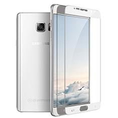 Protector de Pantalla Cristal Templado Integral F03 para Samsung Galaxy Note 5 N9200 N920 N920F Blanco