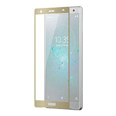 Protector de Pantalla Cristal Templado Integral F03 para Sony Xperia XZ2 Premium Oro