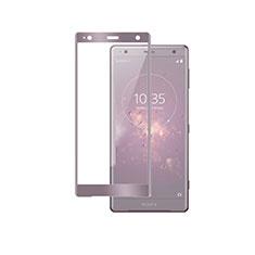 Protector de Pantalla Cristal Templado Integral F03 para Sony Xperia XZ2 Premium Oro Rosa