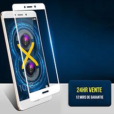 Protector de Pantalla Cristal Templado Integral F04 para Huawei Honor 6X Blanco