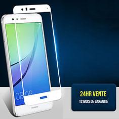 Protector de Pantalla Cristal Templado Integral F04 para Huawei Honor 8 Lite Blanco