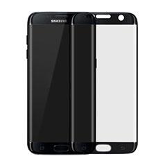 Protector de Pantalla Cristal Templado Integral F04 para Samsung Galaxy S7 Edge G935F Negro