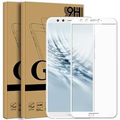 Protector de Pantalla Cristal Templado Integral F05 para Huawei Honor 9 Lite Blanco