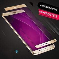 Protector de Pantalla Cristal Templado Integral F05 para Huawei Mate 9 Oro