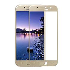 Protector de Pantalla Cristal Templado Integral F05 para Samsung Galaxy A3 (2017) SM-A320F Oro