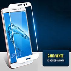 Protector de Pantalla Cristal Templado Integral F06 para Huawei G9 Plus Blanco