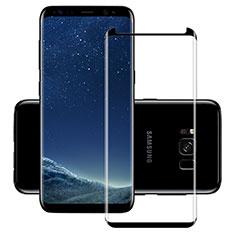 Protector de Pantalla Cristal Templado Integral F11 para Samsung Galaxy S8 Negro