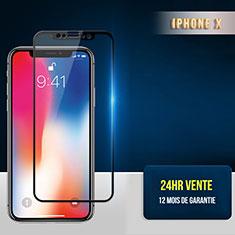 Protector de Pantalla Cristal Templado Integral F30 para Apple iPhone Xs Negro