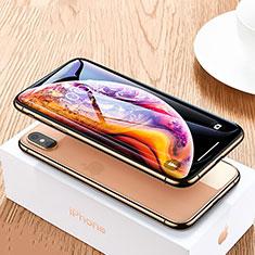 Protector de Pantalla Cristal Templado Integral P06 para Apple iPhone Xs Max Negro