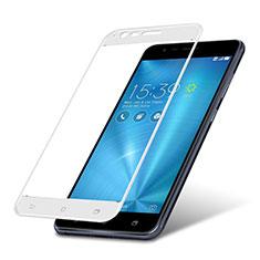 Protector de Pantalla Cristal Templado Integral para Asus Zenfone 3 Zoom Blanco
