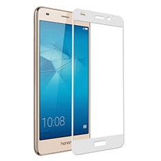 Protector de Pantalla Cristal Templado Integral para Huawei GR5 Mini Blanco