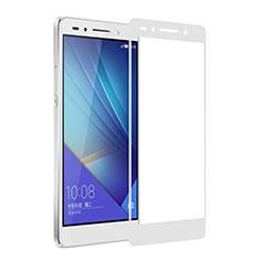 Protector de Pantalla Cristal Templado Integral para Huawei Honor 7 Blanco