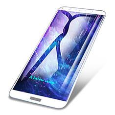 Protector de Pantalla Cristal Templado Integral para Huawei Honor Play 7A Blanco