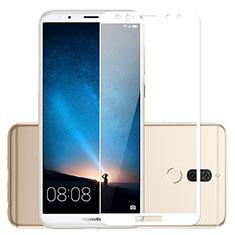 Protector de Pantalla Cristal Templado Integral para Huawei Mate 10 Lite Blanco
