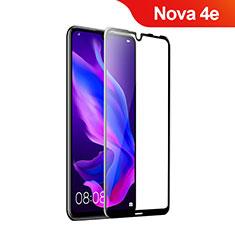 Protector de Pantalla Cristal Templado Integral para Huawei Nova 4e Negro