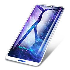 Protector de Pantalla Cristal Templado Integral para Huawei P20 Lite Blanco
