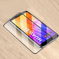 Protector de Pantalla Cristal Templado Integral para Huawei Y5p Negro