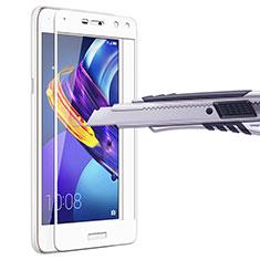 Protector de Pantalla Cristal Templado Integral para Huawei Y6 (2017) Blanco