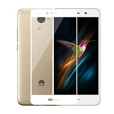 Protector de Pantalla Cristal Templado Integral para Huawei Y7 Prime Blanco