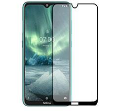 Protector de Pantalla Cristal Templado Integral para Nokia 2.3 Negro