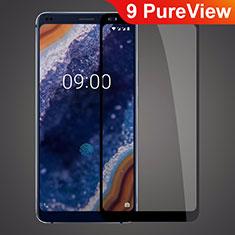 Protector de Pantalla Cristal Templado Integral para Nokia 9 PureView Negro