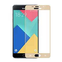 Protector de Pantalla Cristal Templado Integral para Samsung Galaxy A5 (2016) SM-A510F Oro