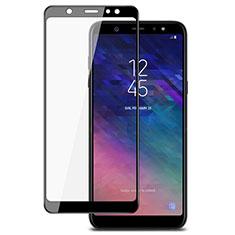 Protector de Pantalla Cristal Templado Integral para Samsung Galaxy A6 Plus Negro