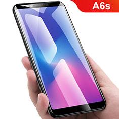 Protector de Pantalla Cristal Templado Integral para Samsung Galaxy A6s Negro