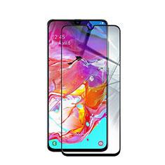 Protector de Pantalla Cristal Templado Integral para Samsung Galaxy A70S Negro