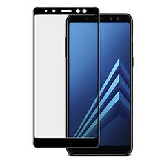 Protector de Pantalla Cristal Templado Integral para Samsung Galaxy A8+ A8 Plus (2018) Duos A730F Negro