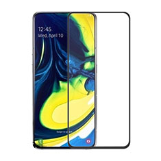 Protector de Pantalla Cristal Templado Integral para Samsung Galaxy A80 Negro