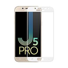Protector de Pantalla Cristal Templado Integral para Samsung Galaxy J5 (2017) Duos J530F Blanco