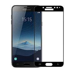 Protector de Pantalla Cristal Templado Integral para Samsung Galaxy J7 Plus Negro