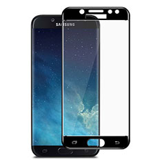 Protector de Pantalla Cristal Templado Integral para Samsung Galaxy J7 Pro Negro