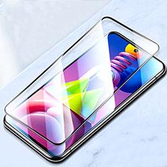 Protector de Pantalla Cristal Templado Integral para Samsung Galaxy M51 Negro