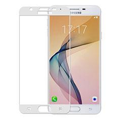 Protector de Pantalla Cristal Templado Integral para Samsung Galaxy On5 (2016) G570 G570F Blanco