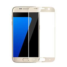 Protector de Pantalla Cristal Templado Integral para Samsung Galaxy S6 Duos SM-G920F G9200 Oro