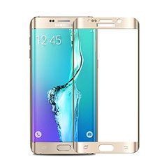 Protector de Pantalla Cristal Templado Integral para Samsung Galaxy S6 Edge+ Plus SM-G928F Oro